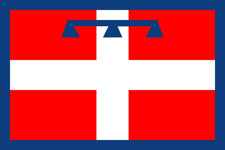 Regional Flags Italy - Piedmont