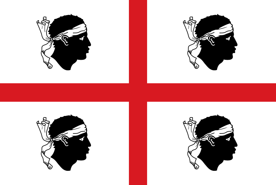 Regional Flags Italy - Sardinia