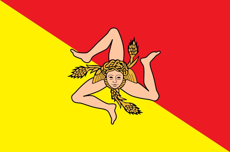 Regional Flags Italy - Sicily
