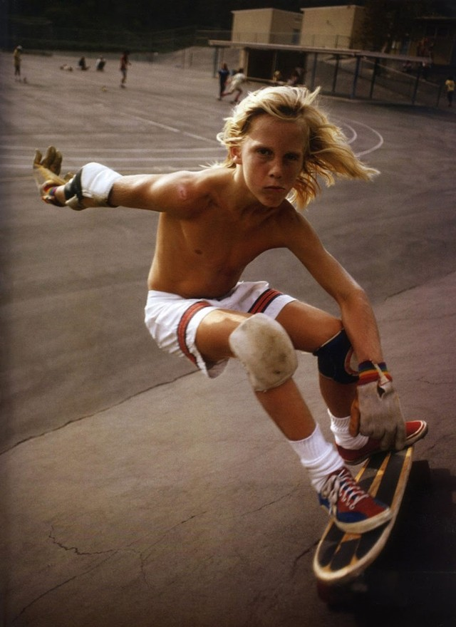 Skate Scene California 70s - close up