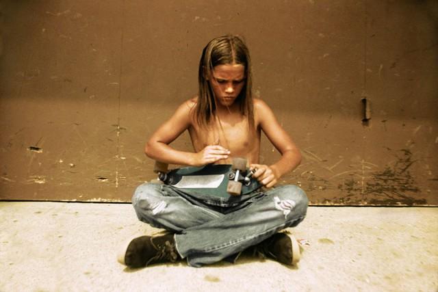 Skate Scene California 70s - contemplating