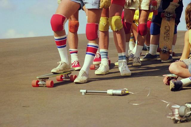 Skate Scene California 70s - knee pads