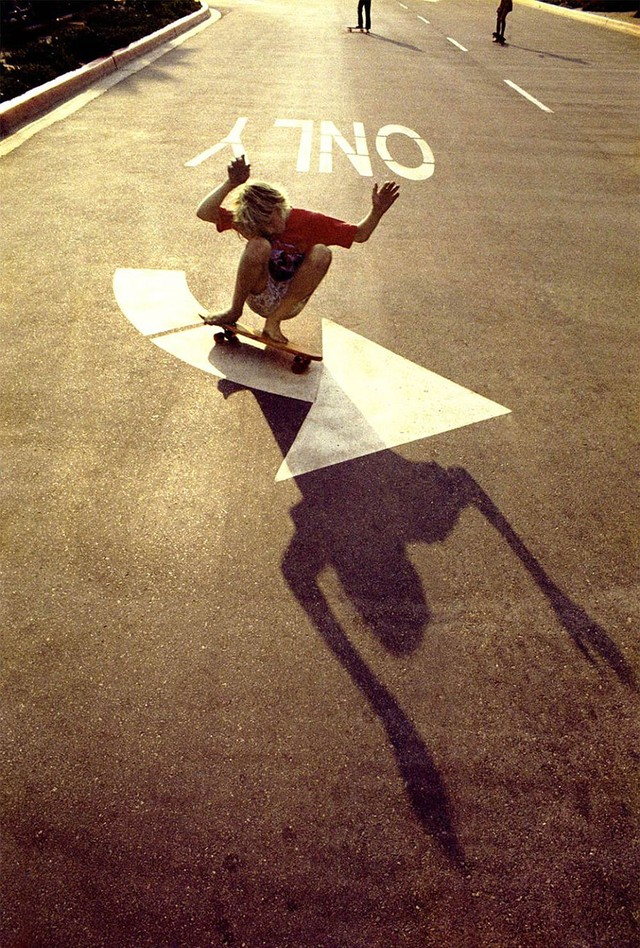Skate Scene California 70s - turn it out