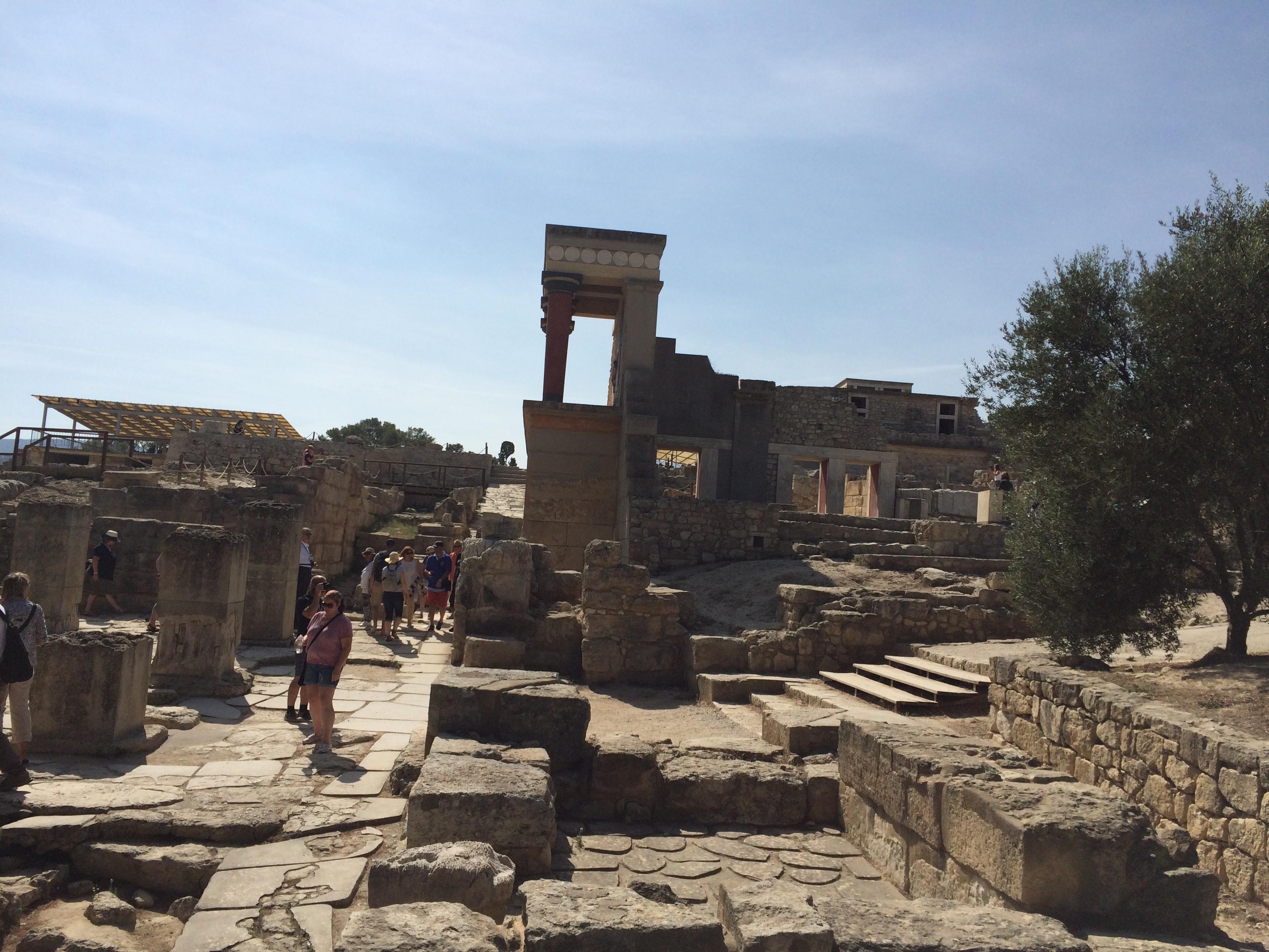 Ancient Minoan Palace