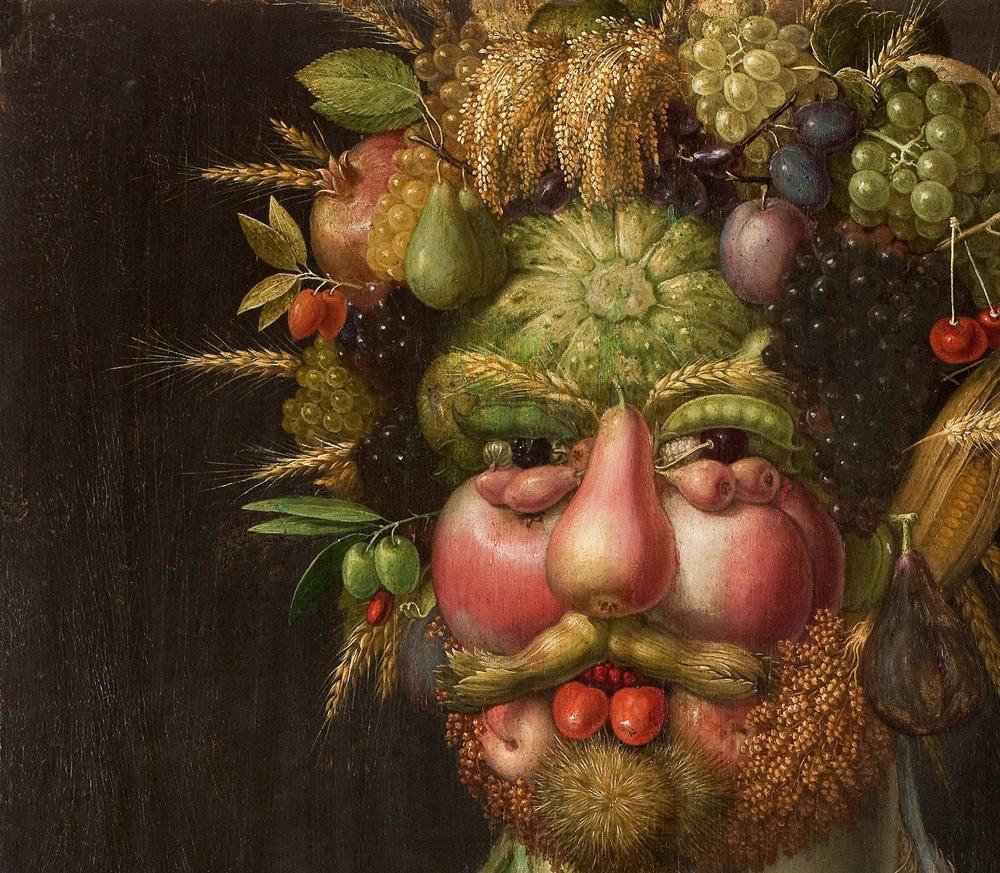 Giuseppe Arcimboldo Amp His Fruity Faces O Lazer Horse