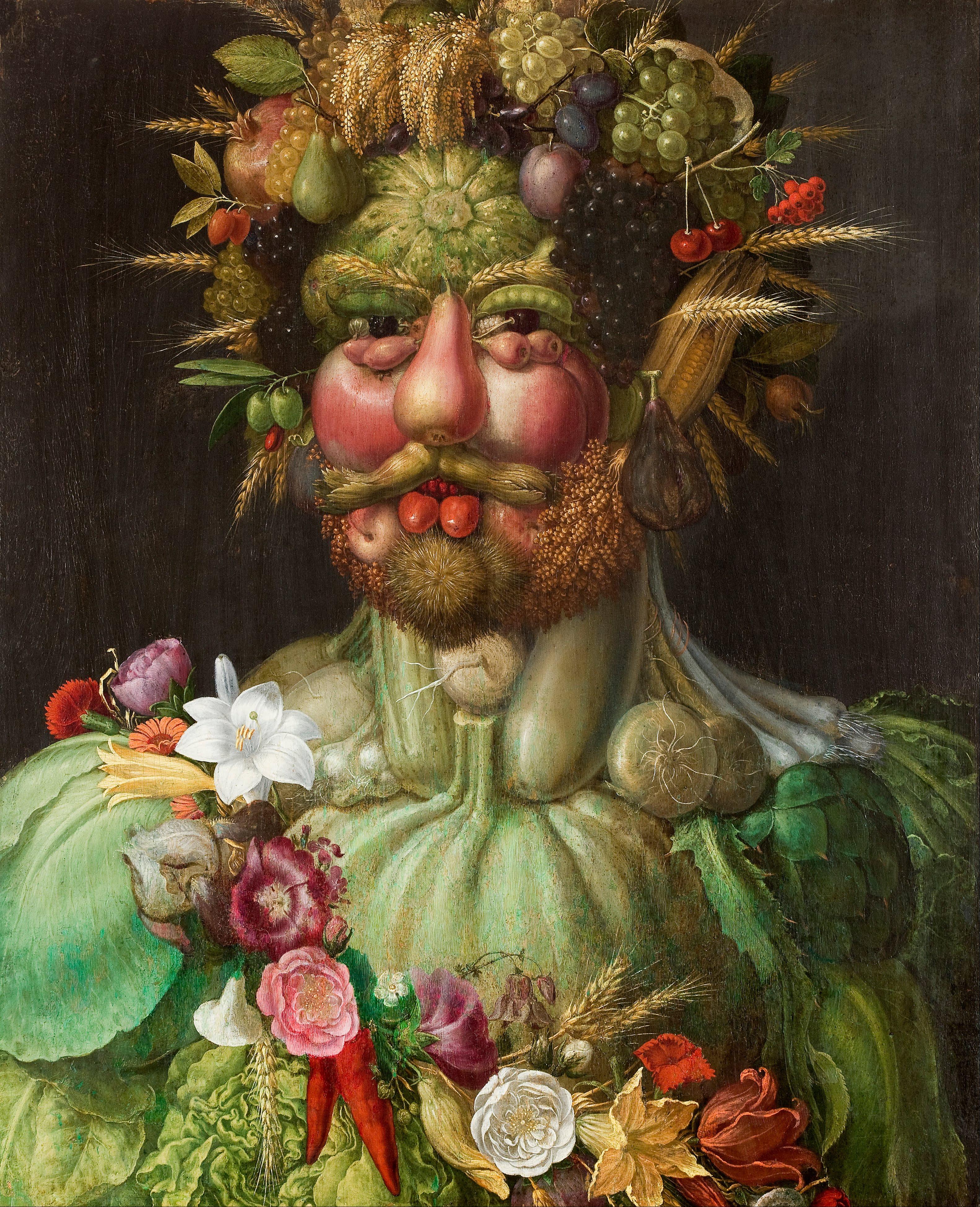 Giuseppe Arcimboldo - Rudolf II of Habsburg - Vertumnus