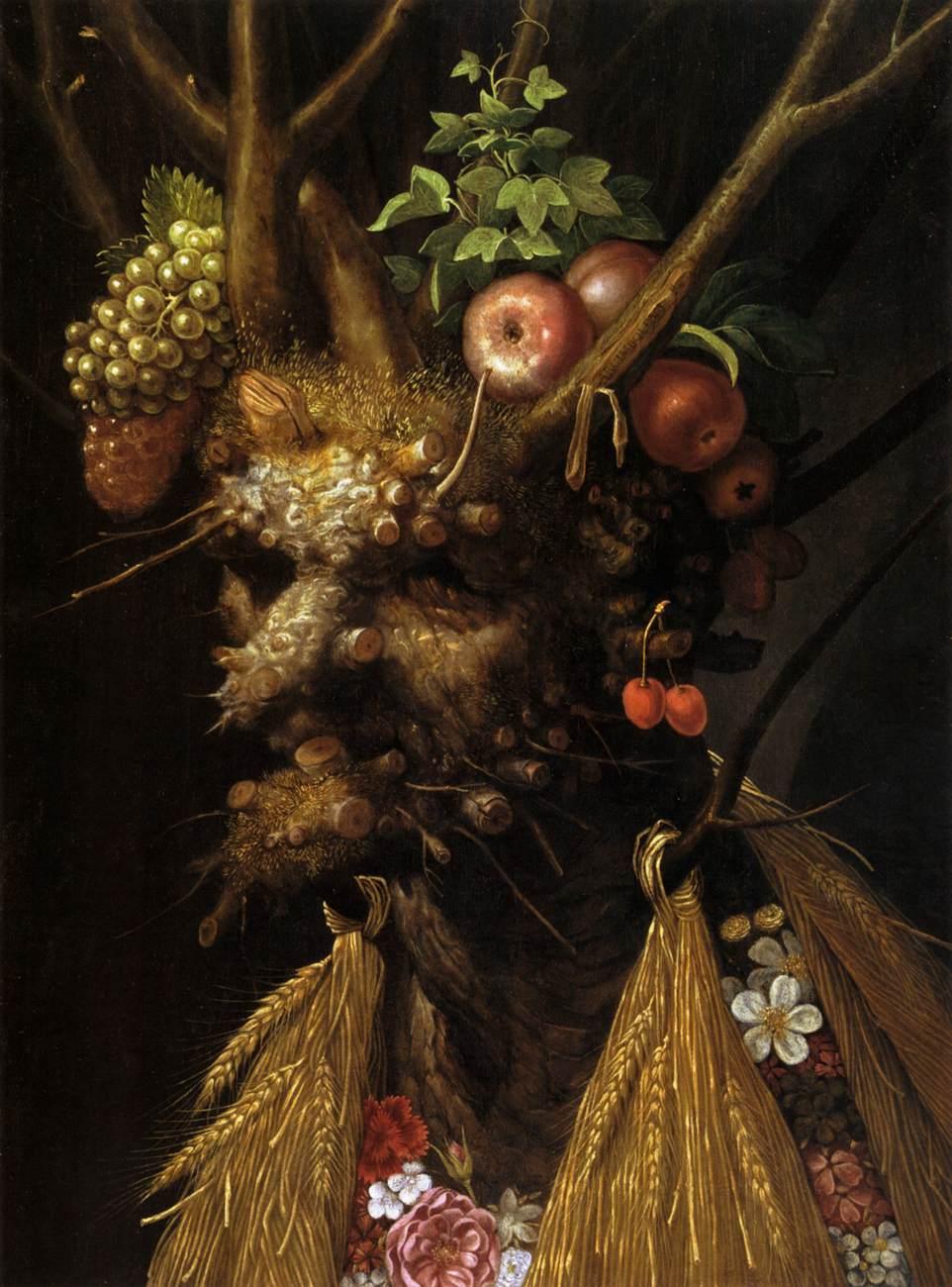 Giuseppe Arcimboldo - The Four Seasons In One Head