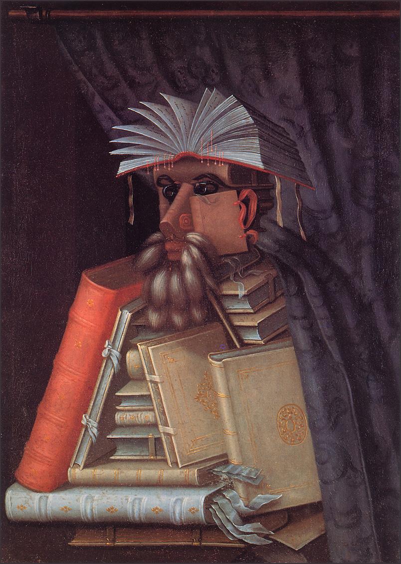 Giuseppe Arcimboldo - The Librarian