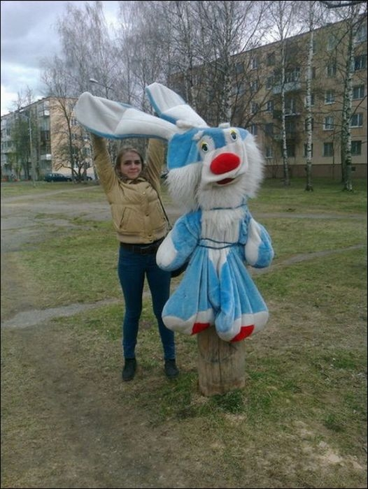 Awesome Photos From Russia With Love - Big Bunny