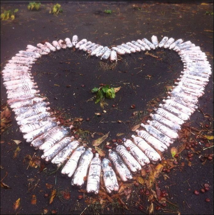 Awesome Photos From Russia With Love - Bottle Hearts
