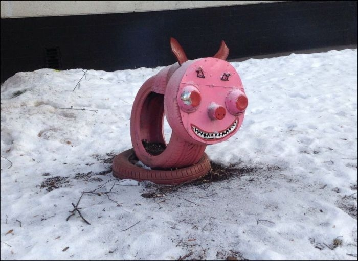 Awesome Photos From Russia With Love - Evil Pig