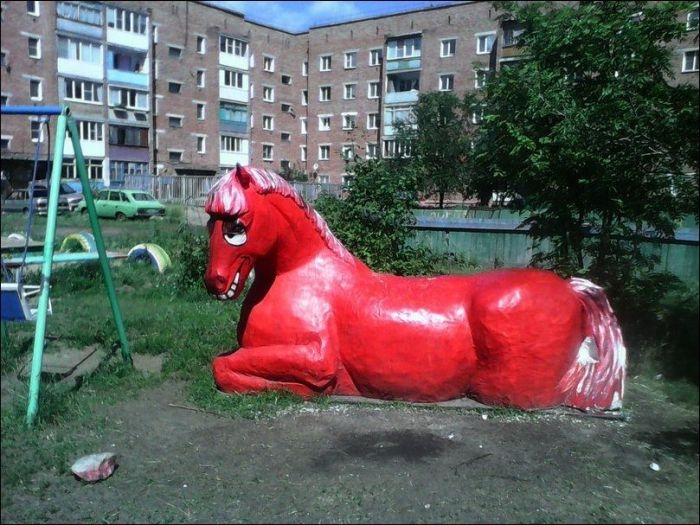 Awesome Photos From Russia With Love - Weird Horse