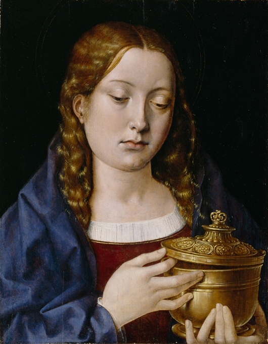 Michael Sittow - Catherine of Aragon as Mary Magdalene