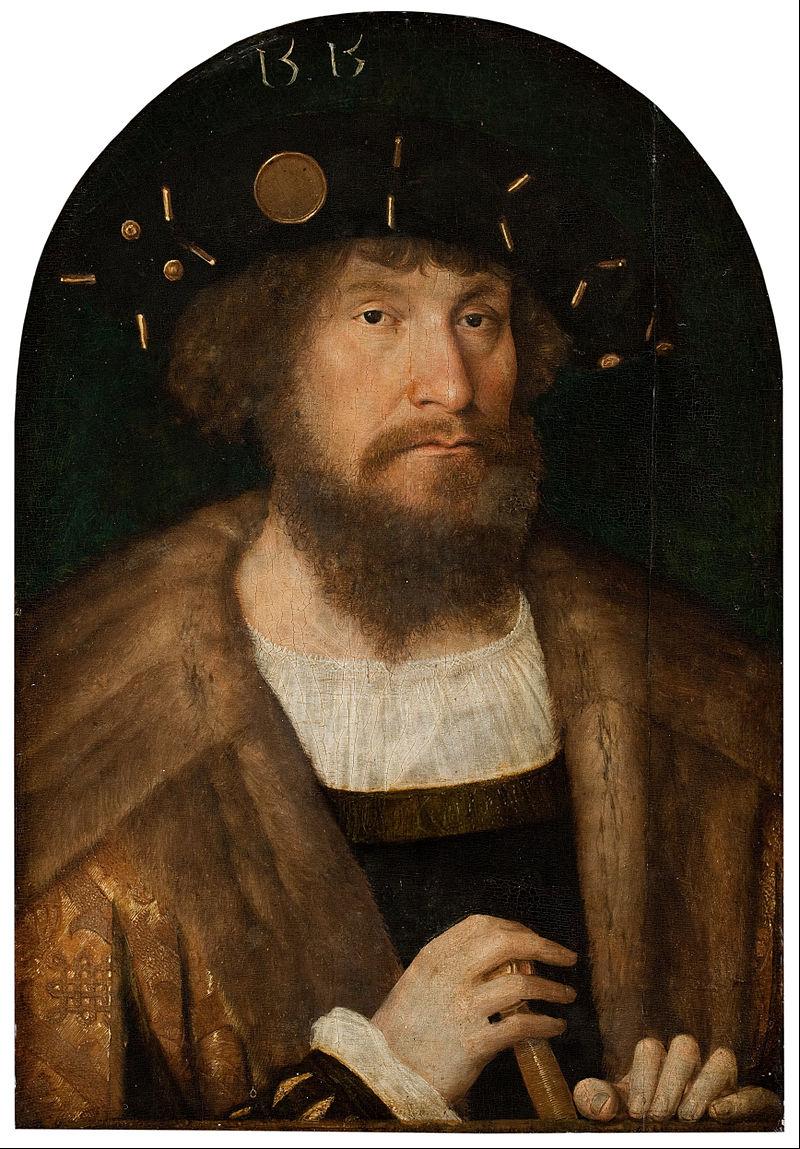 Michael Sittow - Portrait of the Danish King Christian II