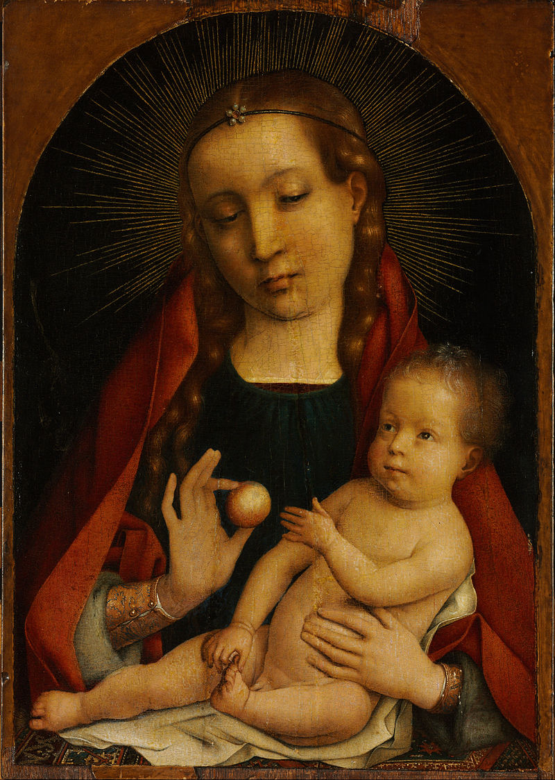 Michael Sittow - The Virgin and Child, 1489 - 1492