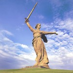 """The Motherland Calls"" – One Huge Stone Russian Lady"