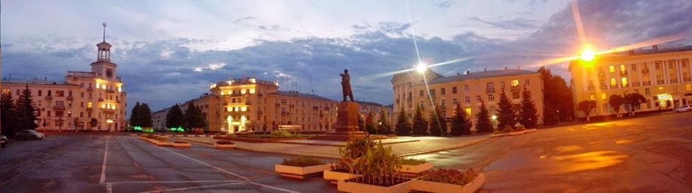 Zheleznogorsk - Buildings - Night View