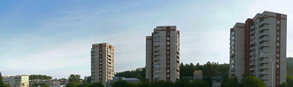 Zheleznogorsk - Buildings Street View towers