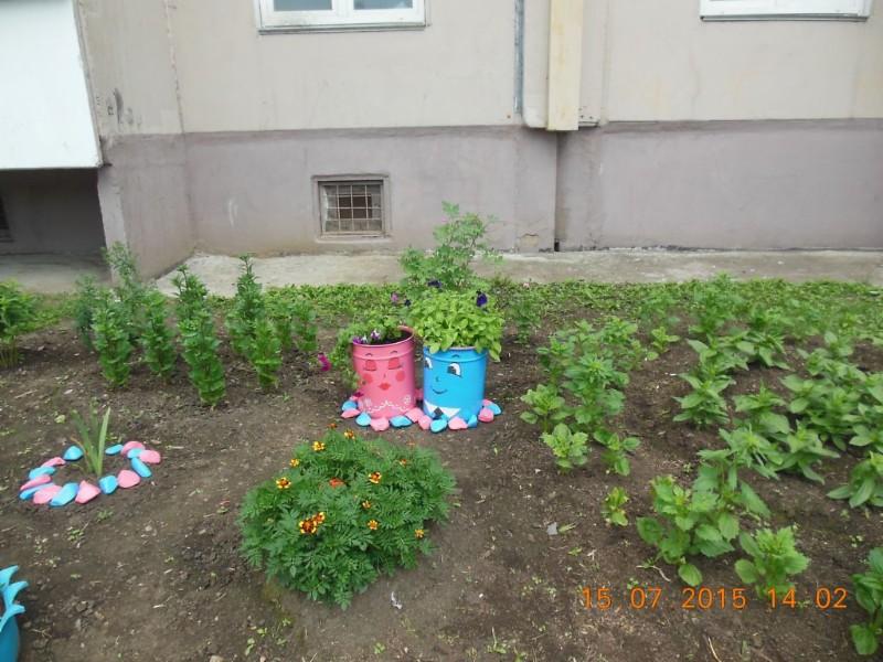 Zheleznogorsk - Courtyard Where I live 1