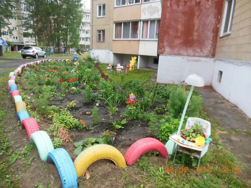 Zheleznogorsk - Courtyard Where I live 5