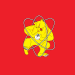 Best Flag In The UNIVERSE: Zheleznogorsk's Bear Wrestling An Atom