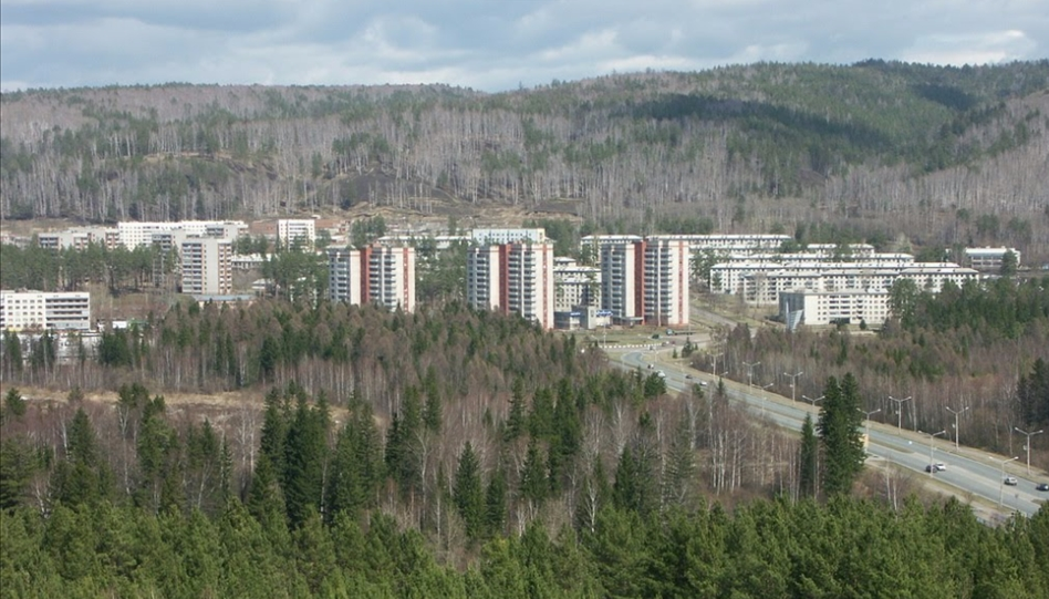 Zheleznogorsk - View From Above
