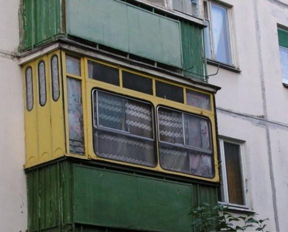 Hilarious Balconies - Bus Refit