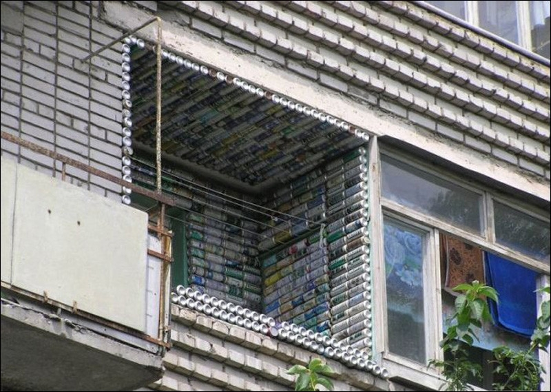 Hilarious Balconies - Cans