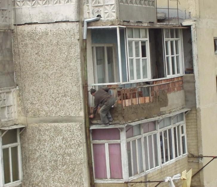 Hilarious Balconies - Dangerous