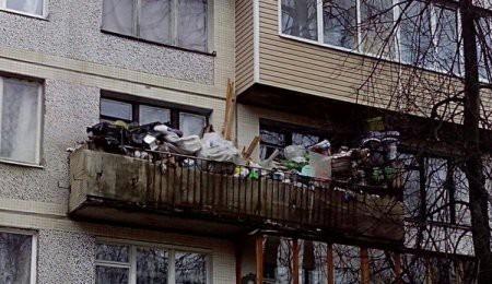 Hilarious Balconies - Storage