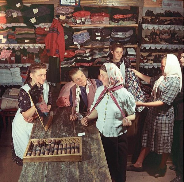 Awesome Photos From Russia - USSR Shop 1953