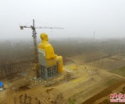 Huge Statue of Mao Zedong Built And Dismantled In Rural China