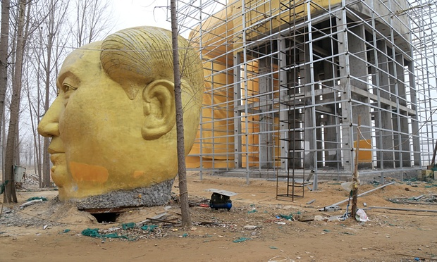 Giant Mao Zedong Statue - Mega Mao Head