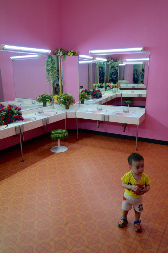 North Korea DPRK Buildings - Bathroom