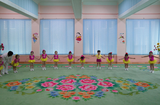 North Korea DPRK Buildings - Children