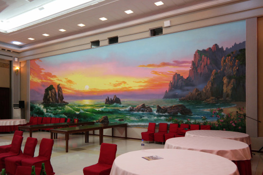 North Korea DPRK Buildings - Eatery