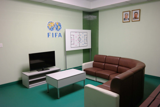 North Korea DPRK Buildings - FIFA