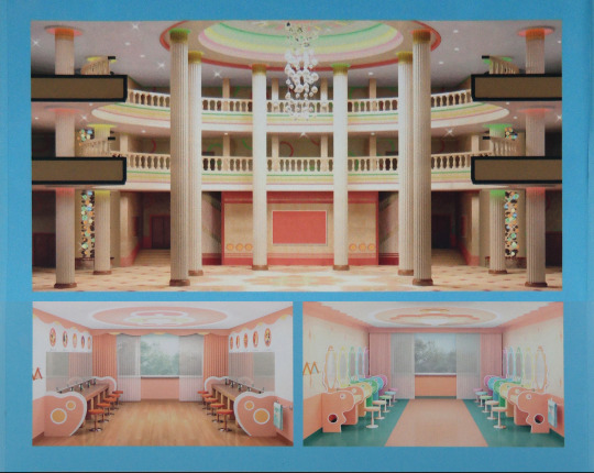 North Korea DPRK Buildings - Palatial