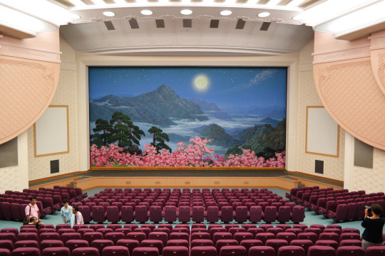 North Korea DPRK Buildings - Theatre
