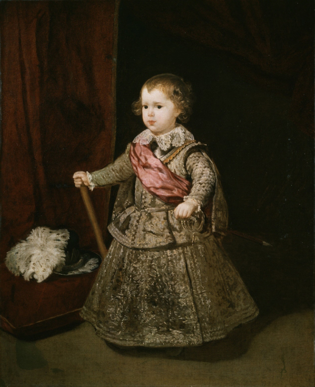 Breeched Unbreeched - Boys as Girls - Balthasar Charles, Prince of Asturias