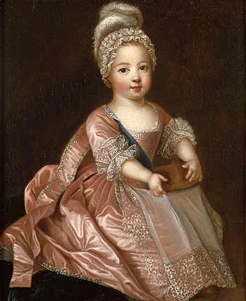 Breeched Unbreeched - Boys as Girls - Louis XV in 1712