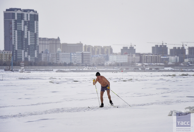 Blagoveshchensk Ice Swimming 10