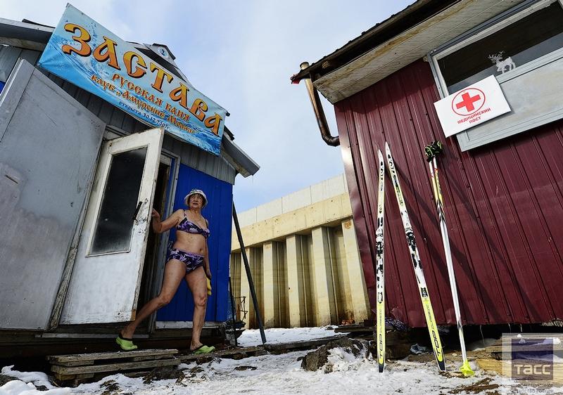 Blagoveshchensk Ice Swimming 13