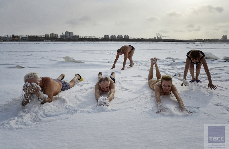 Blagoveshchensk Ice Swimming 16