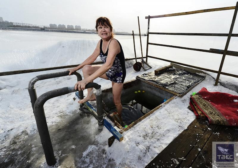 Blagoveshchensk Ice Swimming 19