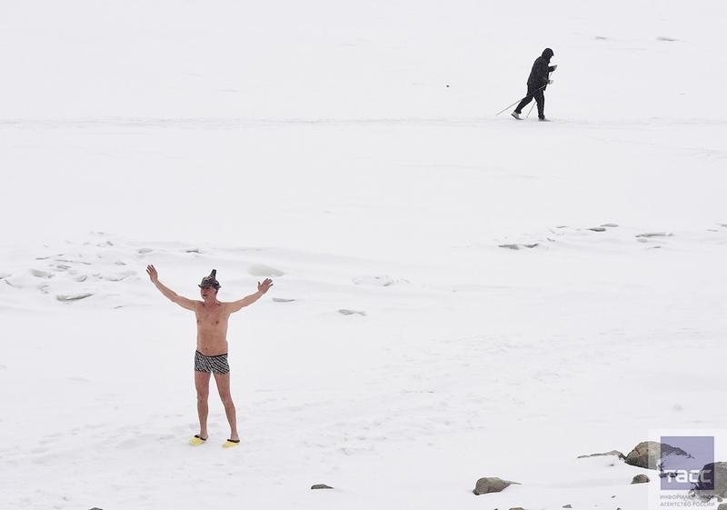 Blagoveshchensk Ice Swimming 6