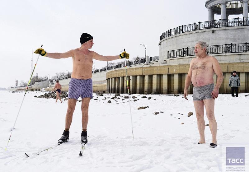 Blagoveshchensk Ice Swimming 7