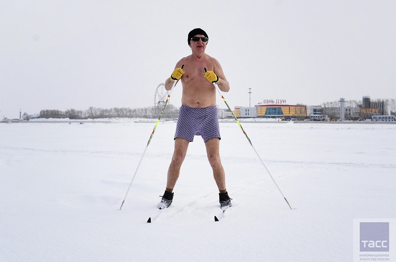 Blagoveshchensk Ice Swimming 8