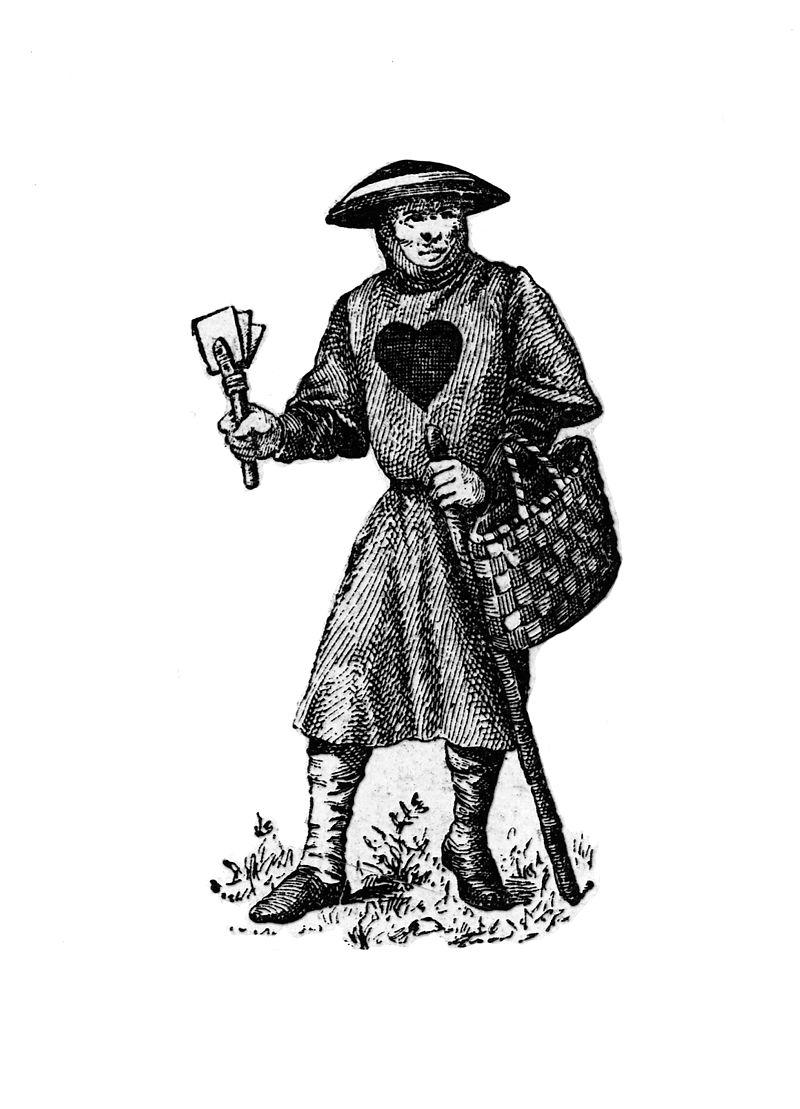 Leprosy in Art - Leper in Costume