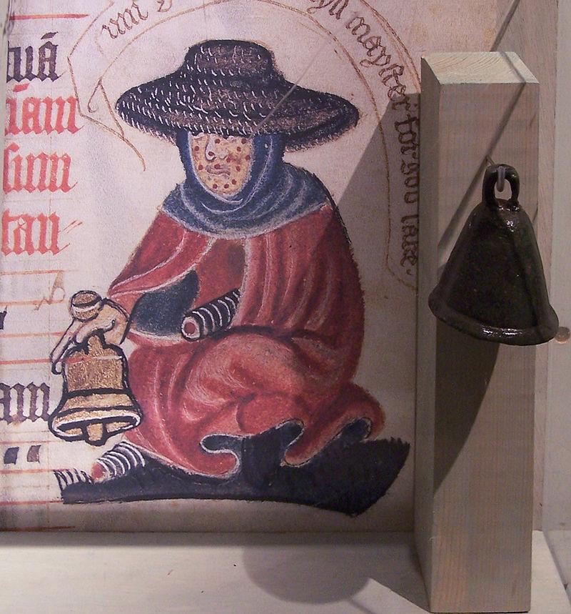 Leprosy in Art - Medieval leper bell